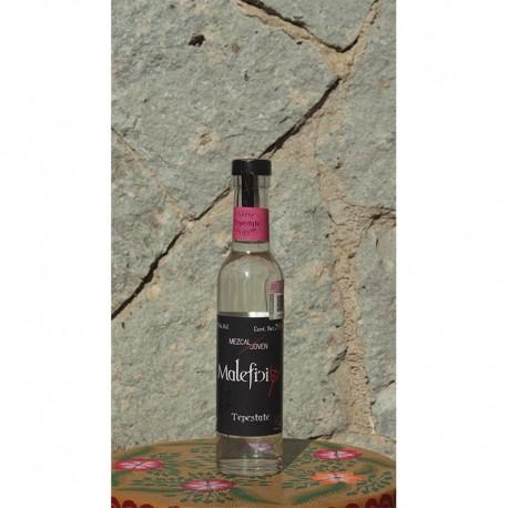 Tepestate 48º destilado en Alambique de Cobre, 250 ml