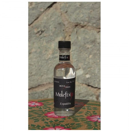 Espadilla 55º destilado en Olla de Barro, 50 ml
