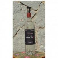 Espadilla 55º destilado en Olla de Barro, 750 ml