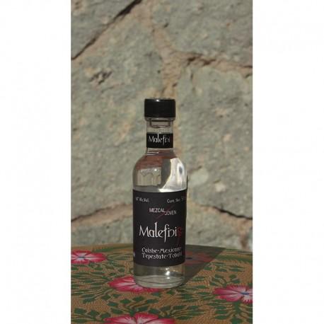 Ensamble Cuishe/Mexicano/Tepestate/Tobalá 50º destilado en Alambique de Cobre, 50 ml