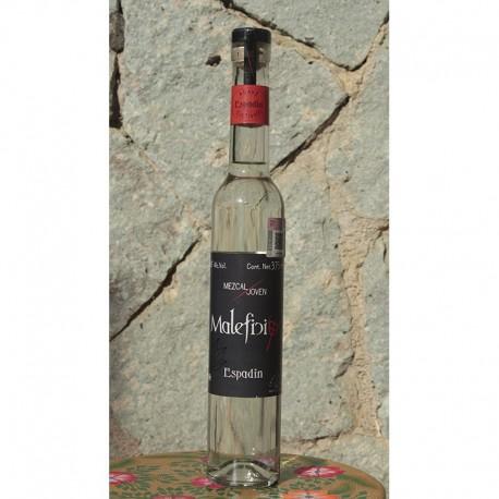 Espadín 48º destilado en Alambique de Cobre, 375 ml