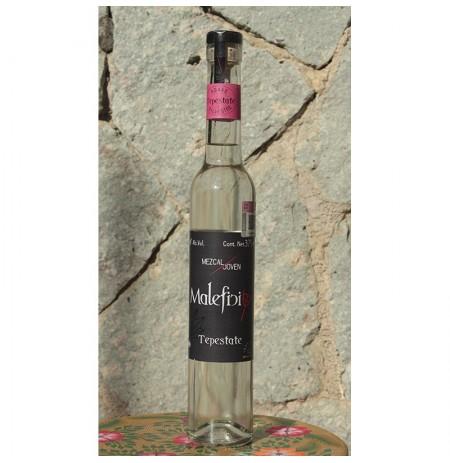 Tepestate 48º destilado en Alambique de Cobre, 375 ml