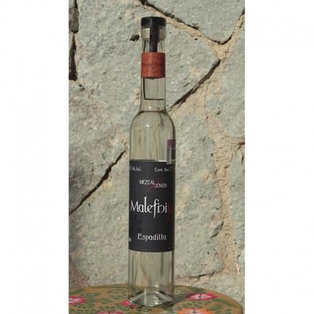 Espadilla 55º destilado en Olla de Barro, 375 ml