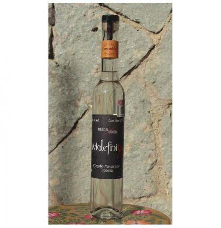 Ensamble Coyote/Mexicano/Tobalá 50º destilado en Alambique de Cobre, 375 ml