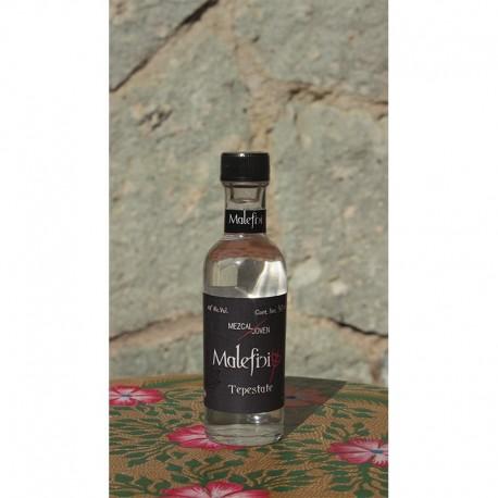 Tepestate 48º destilado en Alambique de Cobre, 50 ml